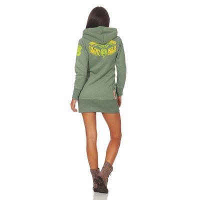 Yakuza Premium Damen Long Sweatshirt GH 2542 grün – Bild 5