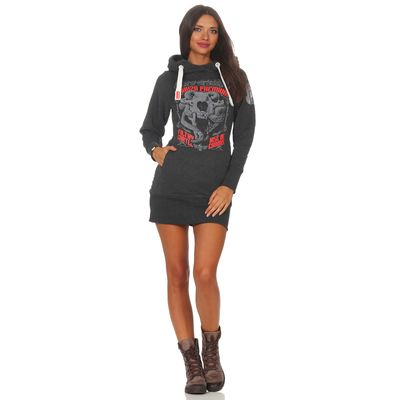 Yakuza Premium Damen Long Sweatshirt GH 2542 anthra – Bild 4
