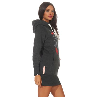 Yakuza Premium women long sweatshirt GH 2542 anthra – Bild 3