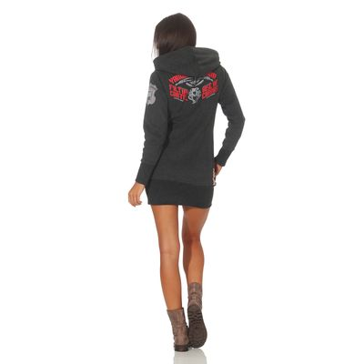 Yakuza Premium women long sweatshirt GH 2542 anthra – Bild 5