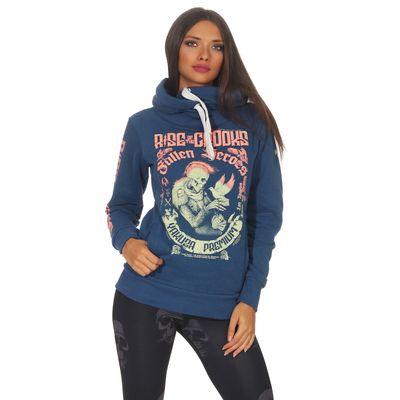 Yakuza Premium women sweatshirt GH 2541 blue – Bild 1