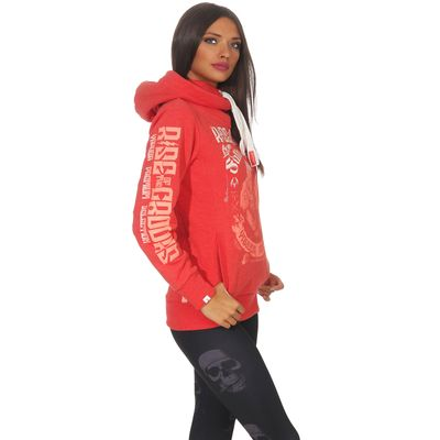Yakuza Premium Damen Sweatshirt GH 2541 rot – Bild 3