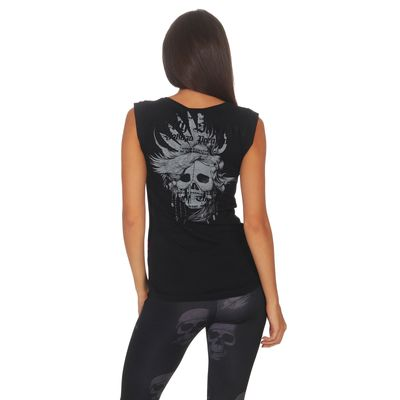 Yakuza Premium women shirt GS 2539 black – Bild 2