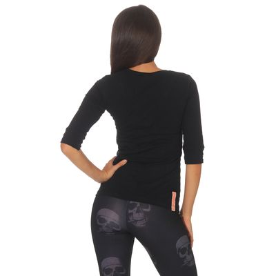 Yakuza Premium women long sleeve shirt GS 2535 black – Bild 2