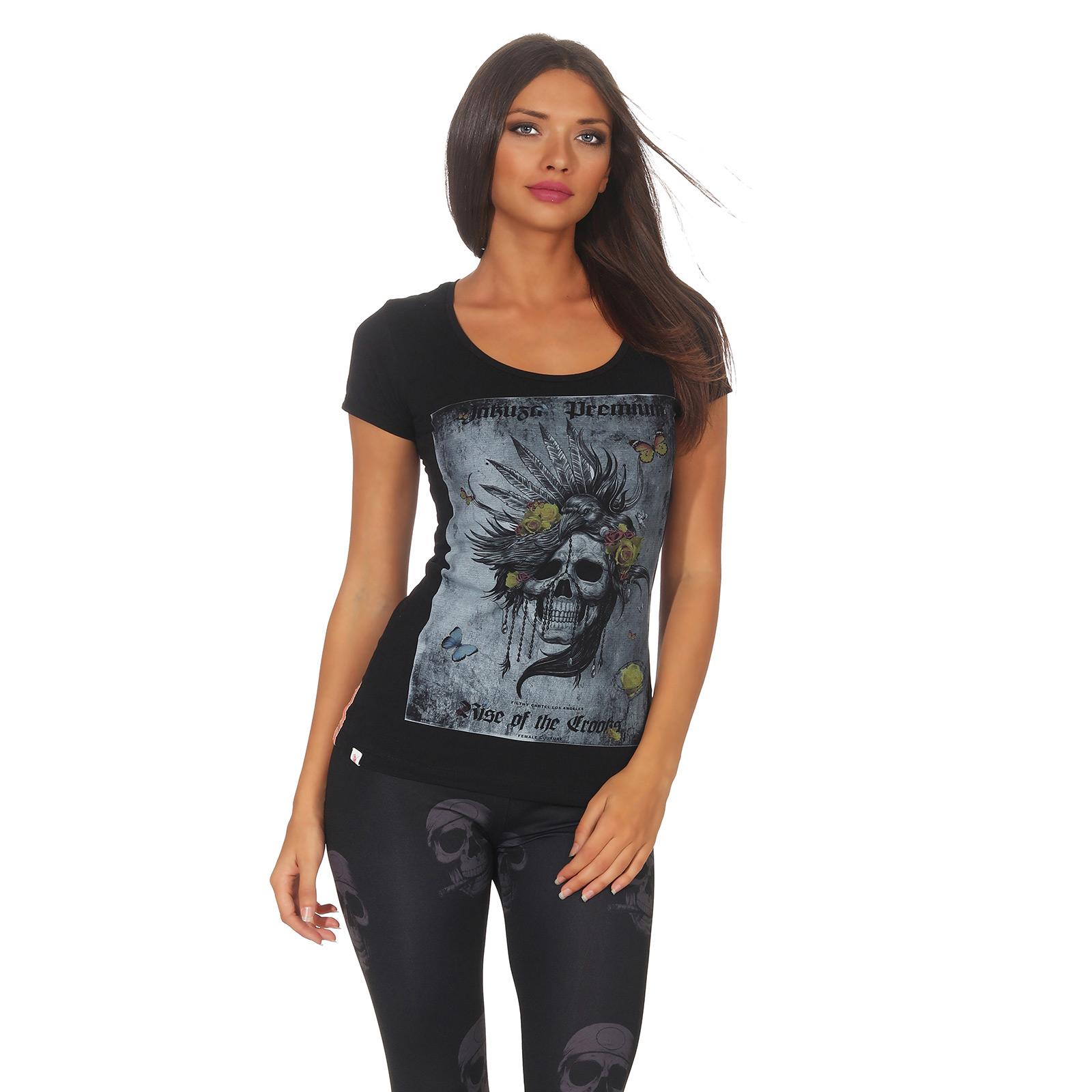 45249909c Yakuza Premium women t-shirt GS 2534 black