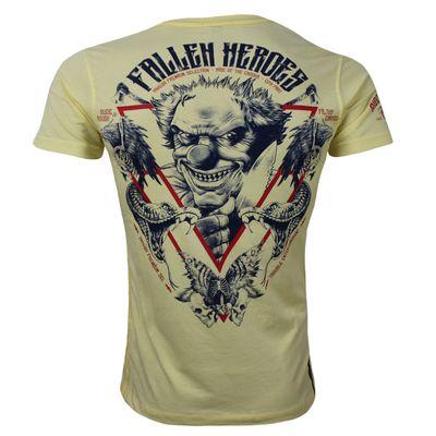 Yakuza Premium T-Shirt YPS 2507 hellgelb – Bild 1