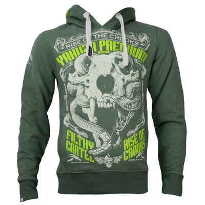 Yakuza Premium Sweatshirt YPH 2521 olive – Bild 1
