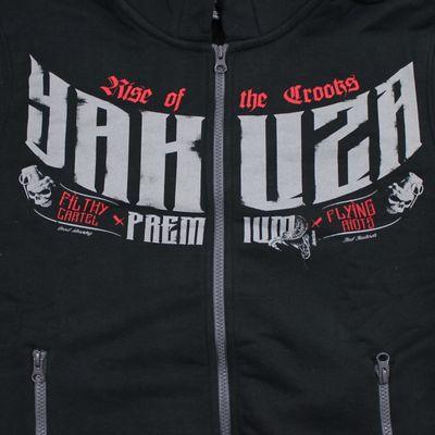 Yakuza Premium Sweatjacke YPHZ 2528 schwarz – Bild 3