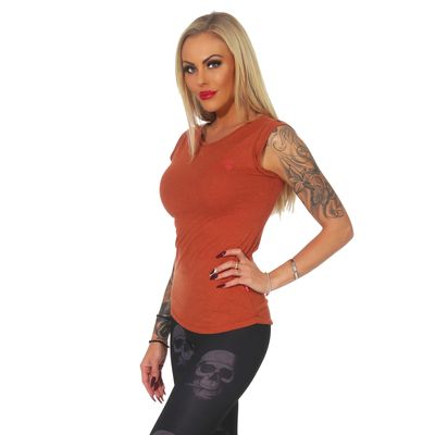Yakuza Premium women shirt GS 2539 brown – Bild 4