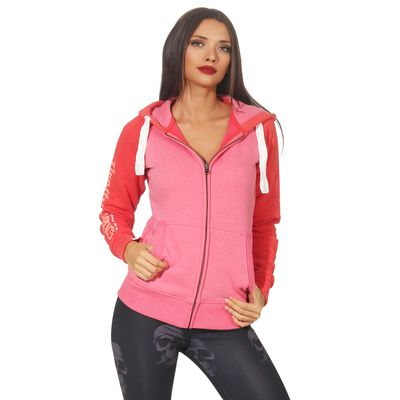 Yakuza Premium women sweatjacket GHZ 2543 pink – Bild 5