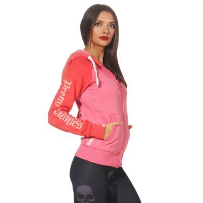 Yakuza Premium Damen Sweatjacke GHZ 2543 pink – Bild 4