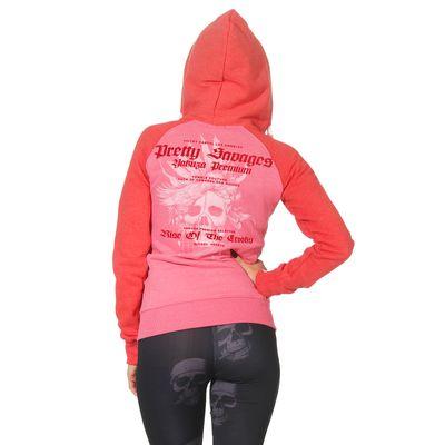 Yakuza Premium Damen Sweatjacke GHZ 2543 pink