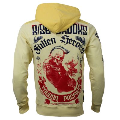 Yakuza Premium men sweatshirt YPH 2520 light yellow – Bild 1
