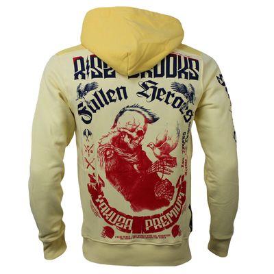Yakuza Premium Sweatshirt YPH 2520 hellgelb – Bild 1