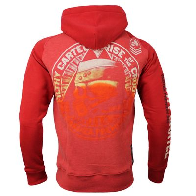 Yakuza Premium sweatjacket YPHZ 2527 red – Bild 2