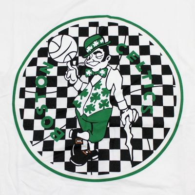 M&N Herren NBA T-Shirt Boston Celtics Fill Logo white – Bild 2