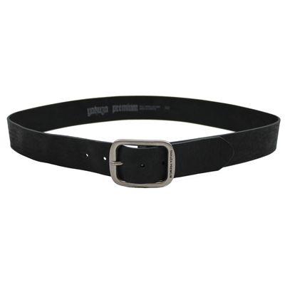 Yakuza Premium Leder Gürtel 2593 schwarz – Bild 2