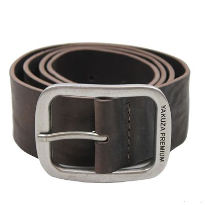 Yakuza Premium belt 2593 dark brown – Bild 1