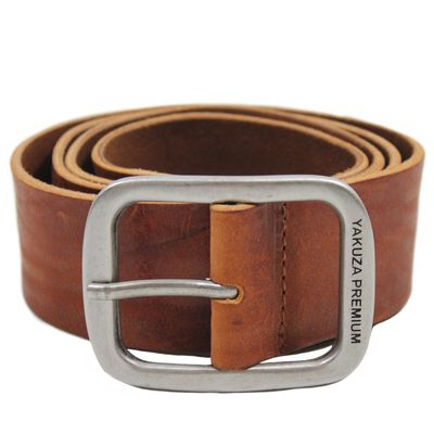 Yakuza Premium belt 2593 cognac brown – Bild 1