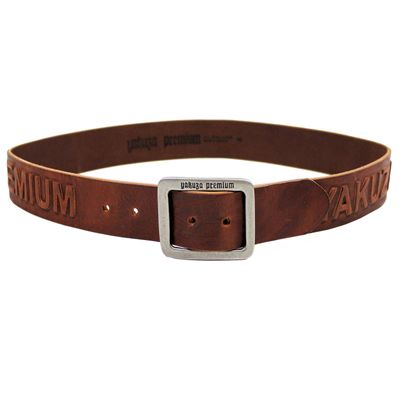 Yakuza Premium belt 2592 cognac brown – Bild 2