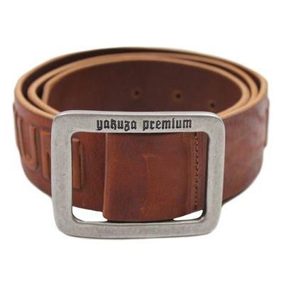 Yakuza Premium belt 2592 cognac brown – Bild 5