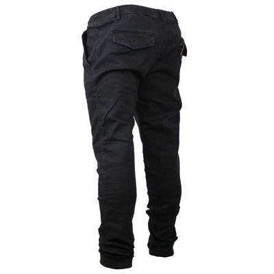 Reell Jeans Herren Reflex Rib Pant Hose black denim LONG – Bild 2