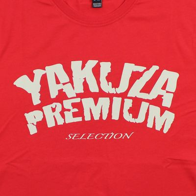 Yakuza Premium men t-shirt PROMO red – Bild 3