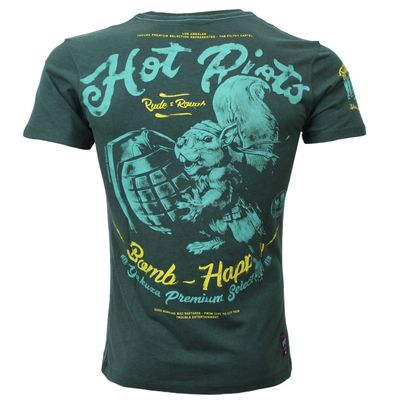 Yakuza Premium men t-shirt YPS 2602 dark green – Bild 1
