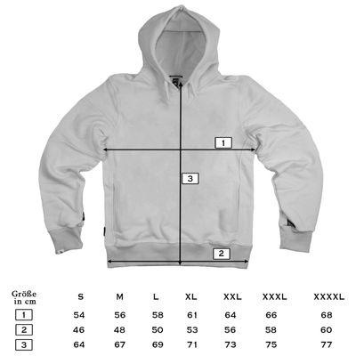 Yakuza Premium Sweatshirt YPH 2622 burgundy – Bild 5