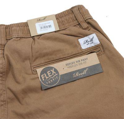Reell Jeans Herren Reflex Rib Pant Hose ocre brown LONG – Bild 5