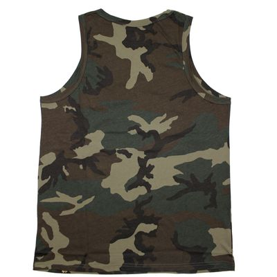 Alpha Industries Small Logo Tank Top woodland camo – Bild 3