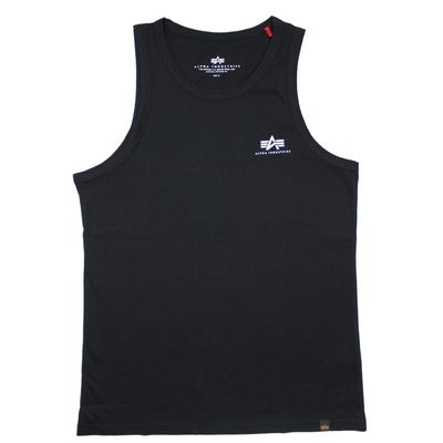 Alpha Industries Small Logo Tank Top black – Bild 1
