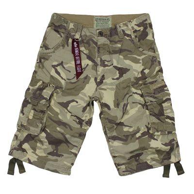 Alpha Industries Jet Short desert camo Cargo Shorts – Bild 1