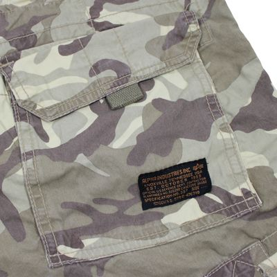 Alpha Industries Jet Short desert camo Cargo Shorts – Bild 4