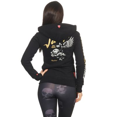 Yakuza Premium women sweatjacket GHZ 2641 black – Bild 4