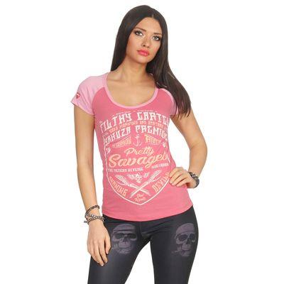 Yakuza Premium Damen T-Shirt GS 2632 pink – Bild 1