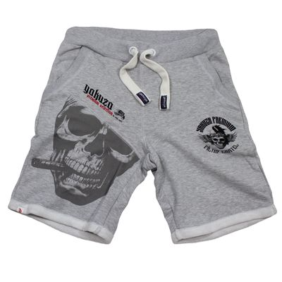 Yakuza Premium short sweatpants YPJO 2628 grey – Bild 1