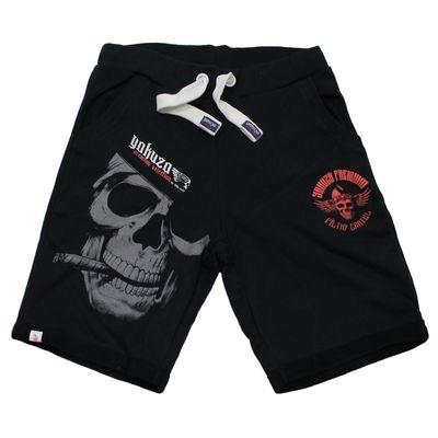 Yakuza Premium kurze Jogginghose YPJO 2628 Shorts schwarz – Bild 1