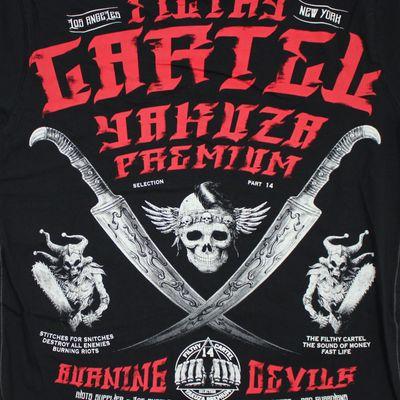 Yakuza Premium T-Shirt YPS 2603 schwarz – Bild 3