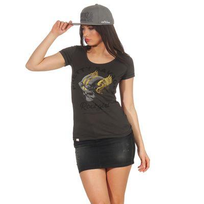 Yakuza Premium Damen T-Shirt GS 2633 stone – Bild 5