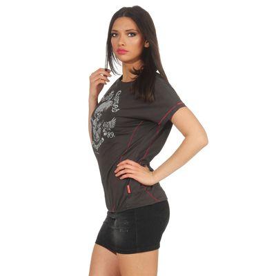 Yakuza Premium Damen T-Shirt GS 2637 stone – Bild 4
