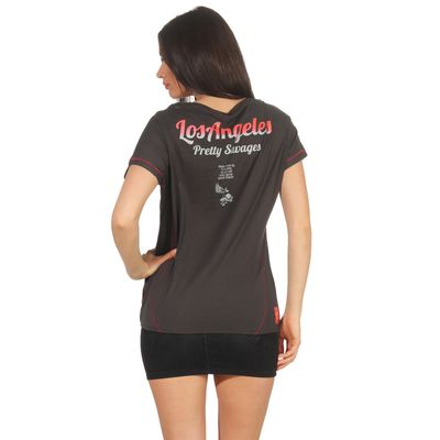 Yakuza Premium Damen T-Shirt GS 2637 stone – Bild 2