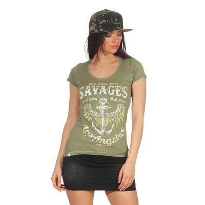 Yakuza Premium women t-shirt GS 2638 olive – Bild 5