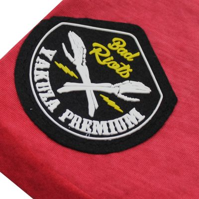 Yakuza Premium T-Shirt VINTAGE 405 red washed – Bild 4