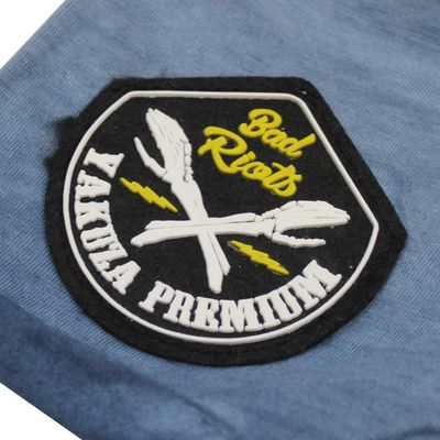 Yakuza Premium T-Shirt VINTAGE 405 blue washed – Bild 4