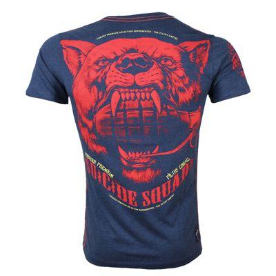 Yakuza Premium T-Shirt YPS 2618 blau meliert – Bild 1