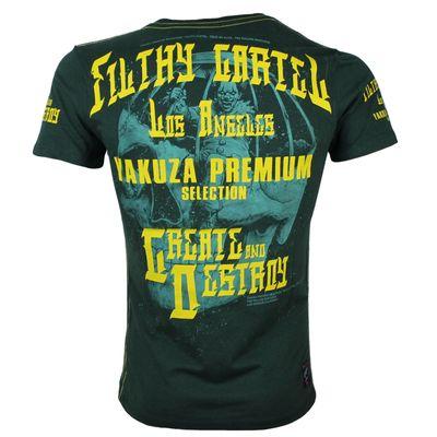 Yakuza Premium men t-shirt YPS 2606 green – Bild 1
