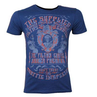 Yakuza Premium T-Shirt YPS 2605 blau – Bild 1