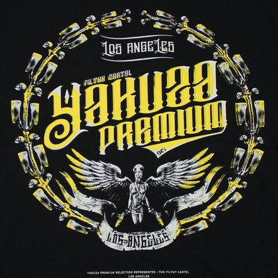 Yakuza Premium T-Shirt YPS 2604 schwarz – Bild 3