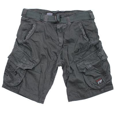 Yakuza Premium Cargo Shorts YPCS 2663 dunkelgrau – Bild 1